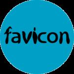 Illustrator で作成したファビコンの元画像。